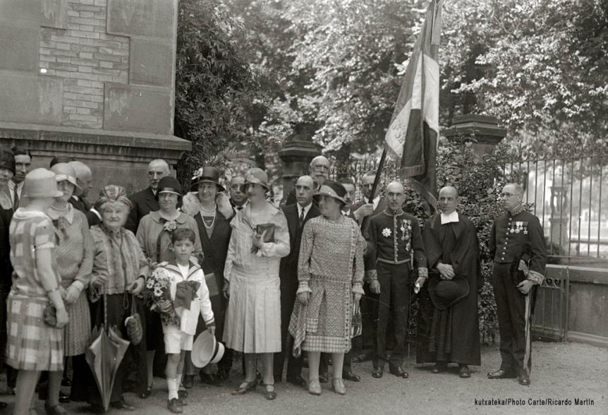 San Sebastián con los aliados en 1914