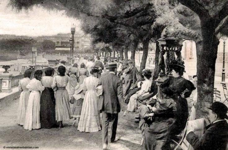 Las fuentes Wallace en San Sebastián