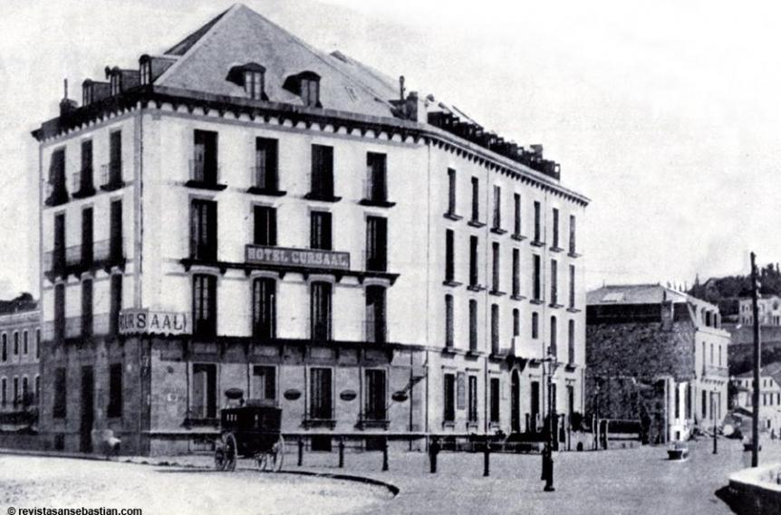 El casino Cursaal, el primero de San Sebastián