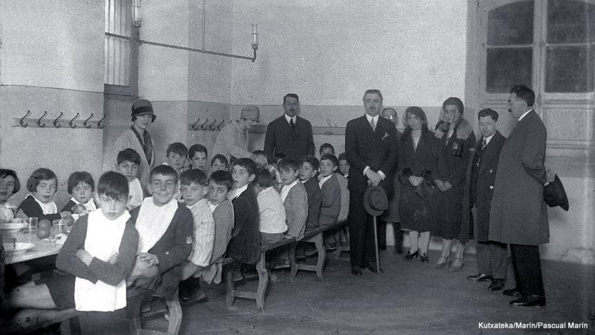 Las Cantinas escolares municipales en san Sebastián