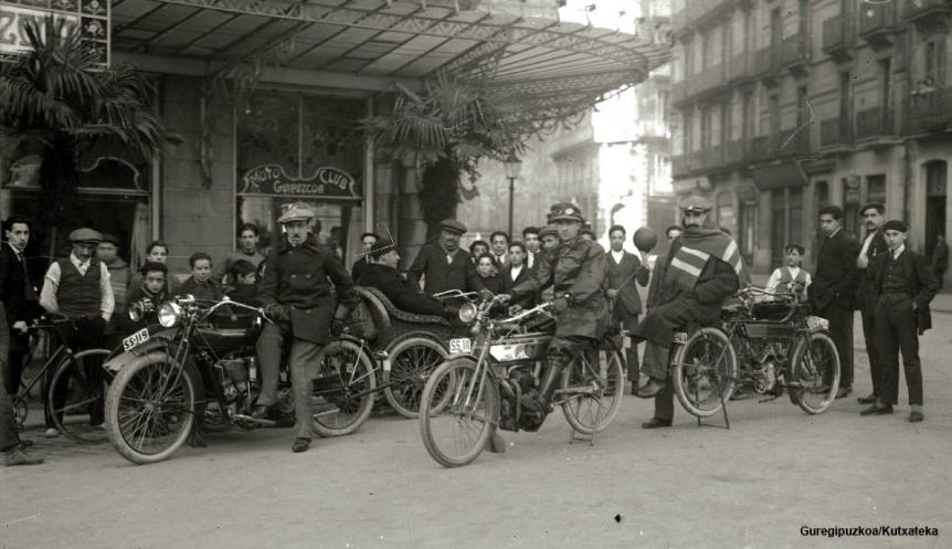 El Moto Club Gipuzkoa cumple 100 años