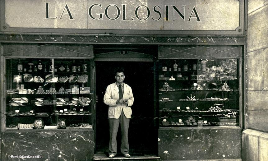 Pastelería La Golosina en San Sebastián