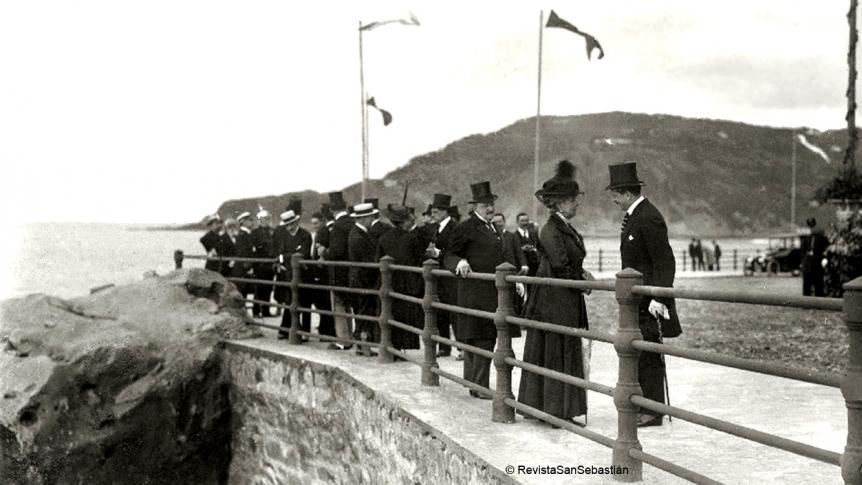 Un Paseo Nuevo de 100 años en San Sebastián
