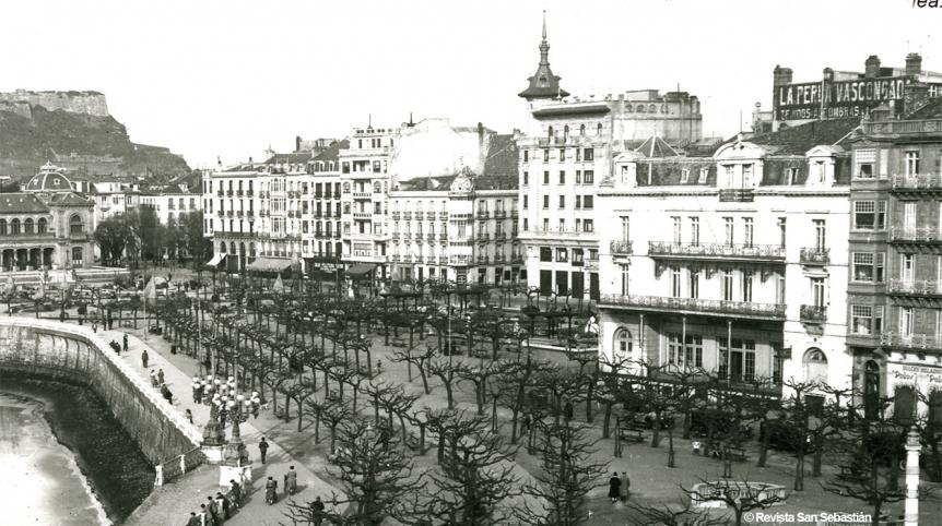 El Café Oteiza en San Sebastián