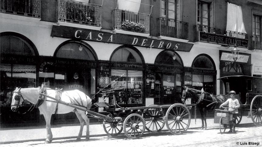 La Casa Delbos en San Sebastián