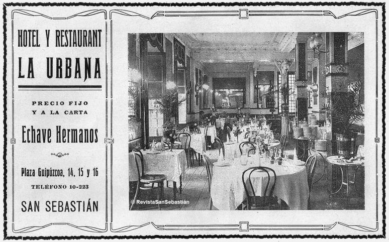 La Urbana, Hotel, Restaurante y sobre todo Pastelería
