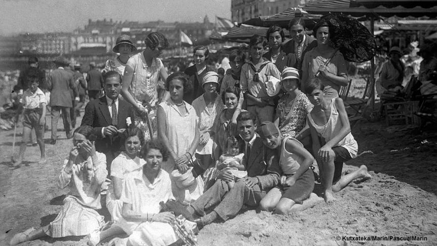 40.000 turistas en San Sebastián en 1919