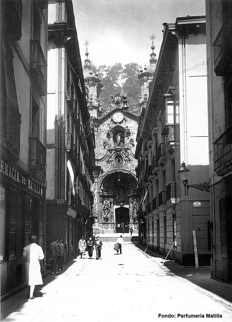 Perfumería Matilla de Donostia San Sebastián
