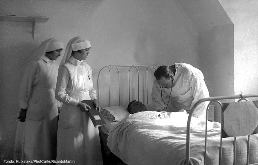 La gripe de 1918 en Donostia San Sebastián
