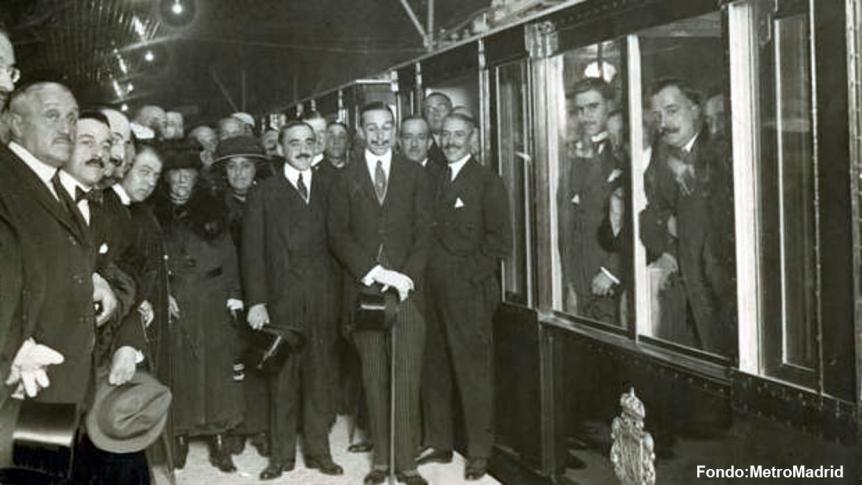 José Otamendi y el Metro de Madrid