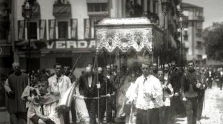 La procesión del Corpus Christi en San Sebastián