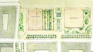Los planos del Proyecto presentado por la Sociedad de Fomento.