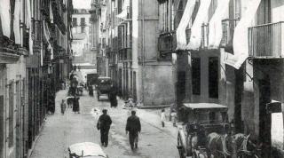 La Plaza de la Trinidad en San Sebastián