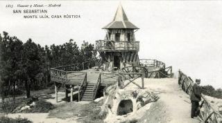 El parque de Ulia en san Sebastián