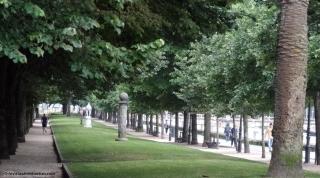 Los tilos del paseo de Francia