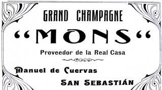 La Casa Mons y el champagne de San Sebastián