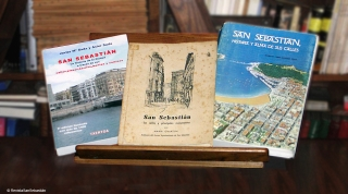 la historia de las calles de San Sebastián