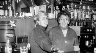Paulina y Coro. Años 60