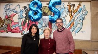 Inés, Coro y Koldo. 2018